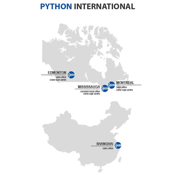 [Translate to German:] PYTHON SITES INTERNATIONAL